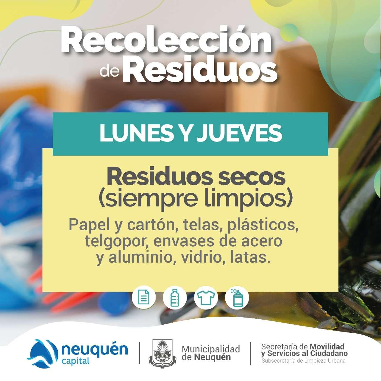 Recolección residuos secos