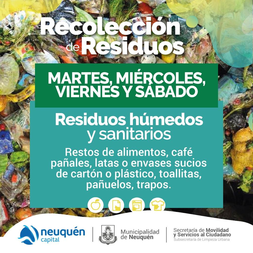 Recolección residuos húmedos