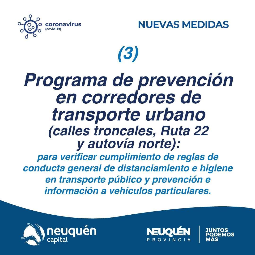 Programa de prevención en corredores de transporte urbano