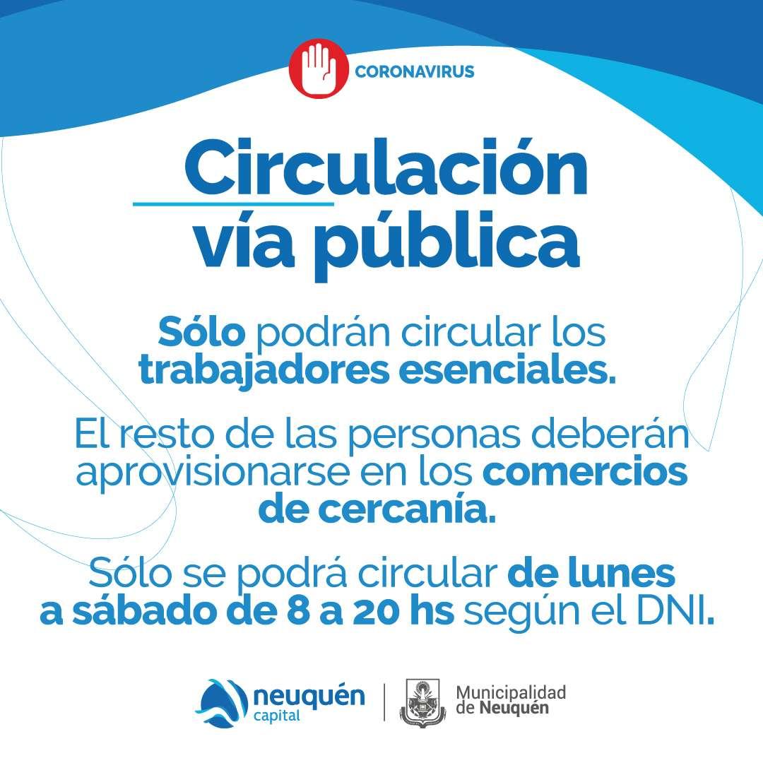 Circulación vía pública