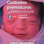 Charla sobre Cuidados Prematuros
